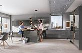 Küche Lux - Stauraum optimal genutzt - Küchenland Auer