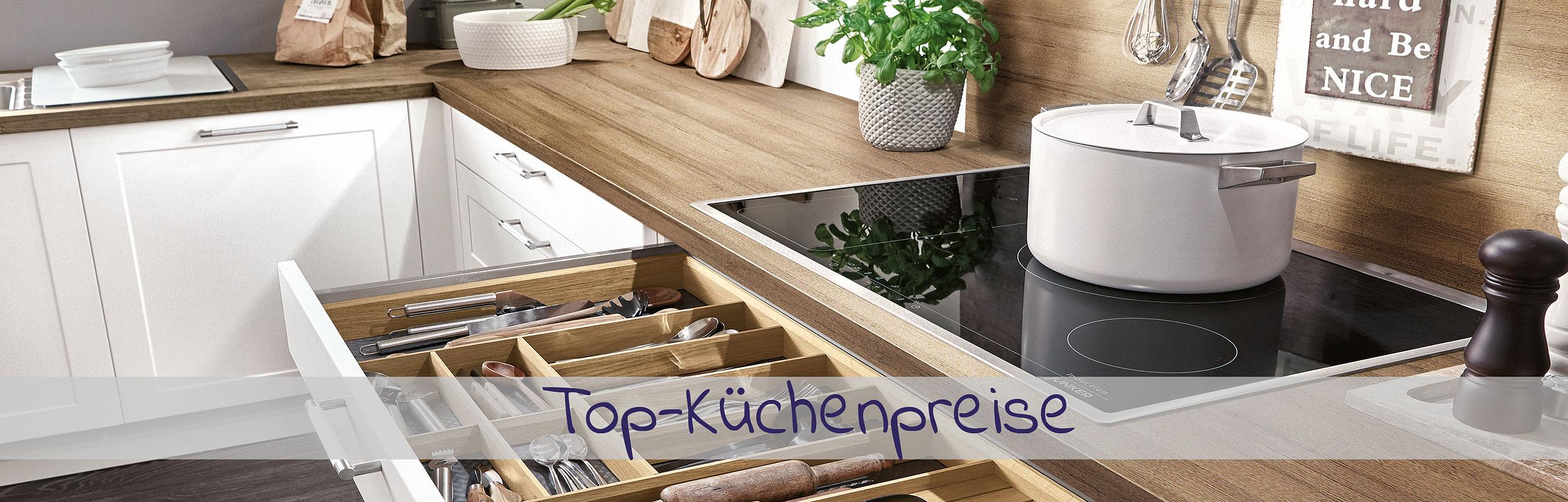 Top Küchenpreise und Angebote - im Küchenland Auer
