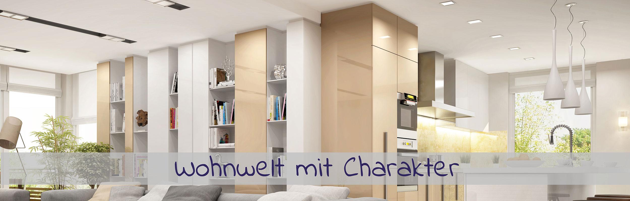 Wohnwelten mit Charakter - im Küchenland Auer